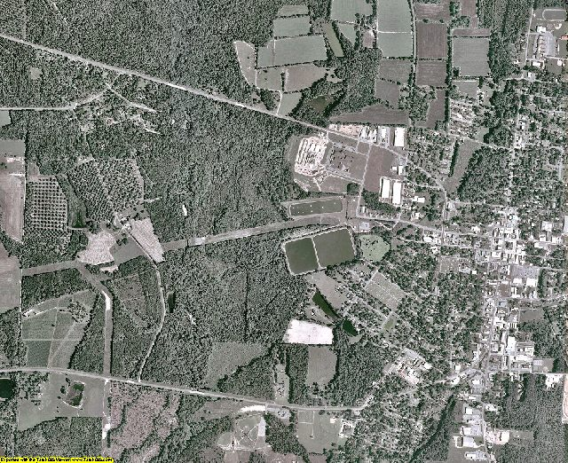 Berrien County, Georgia aerial photography