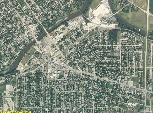 Boone County, Illinois aerial photography