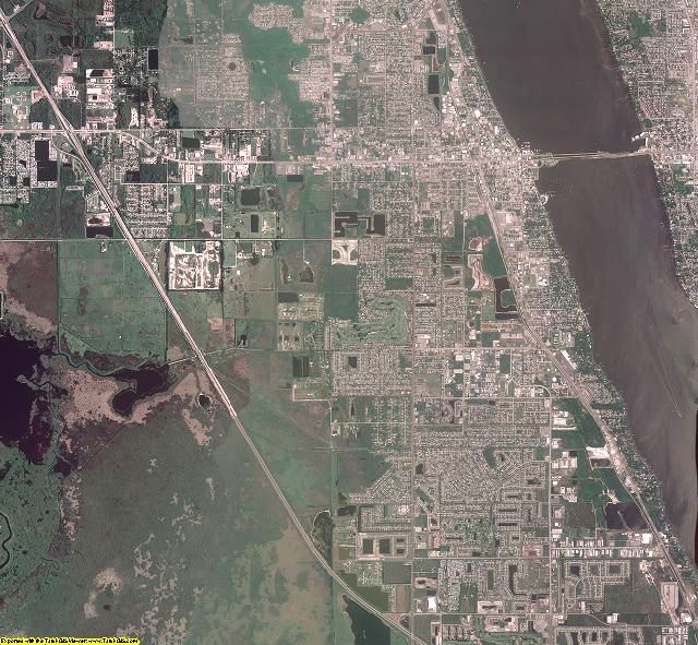 Brevard County, Florida aerial photography