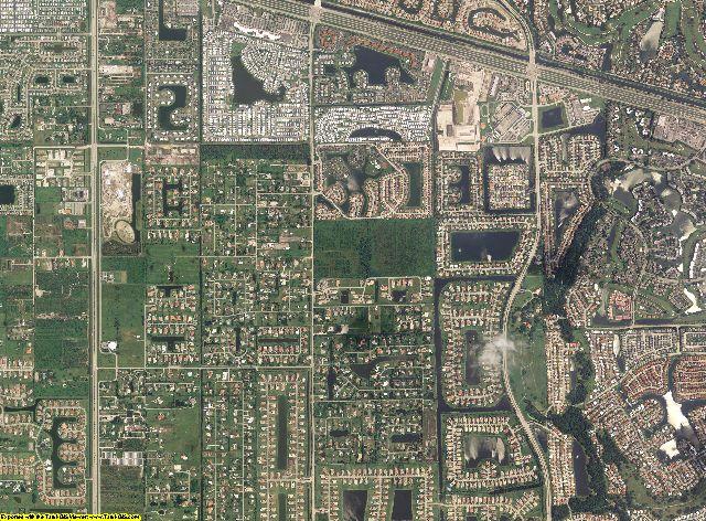 Broward County, Florida aerial photograph. Random Sample from Broward County