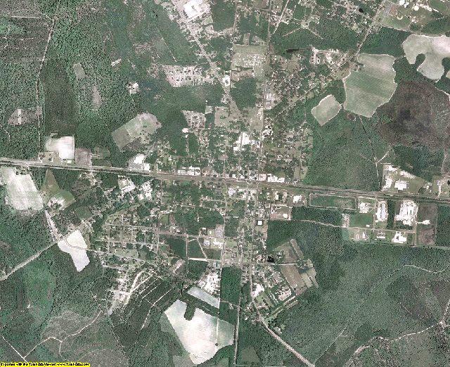 Bryan County, Georgia aerial photography