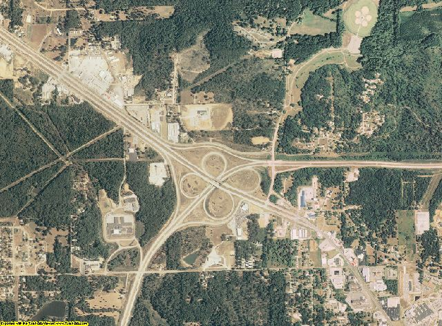 Butler County, Missouri aerial photography