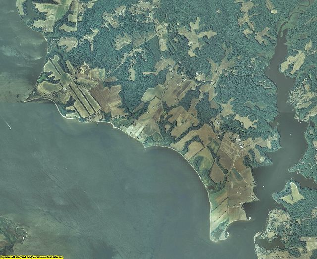 Calvert County, Maryland aerial photography