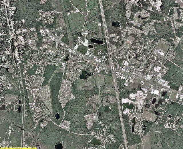 Camden County, Georgia aerial photography