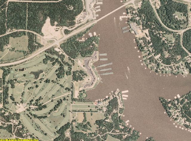 Camden County, Missouri aerial photography