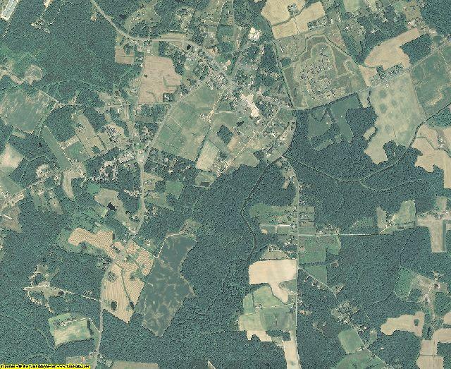 Caroline County, Maryland aerial photography