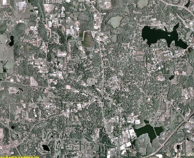 Carroll County, Georgia aerial photography