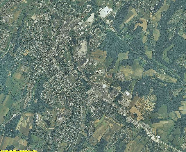 Carroll County, Maryland aerial photography