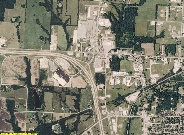 Cass County, Missouri aerial photography