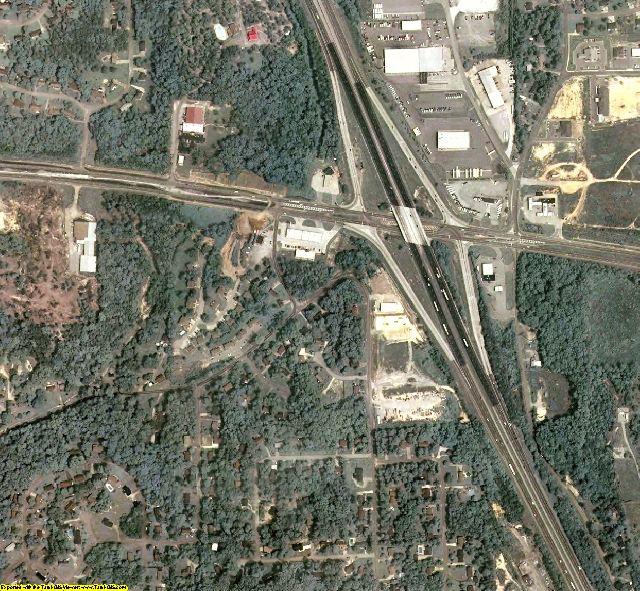 Catoosa County, GA aerial photography detail