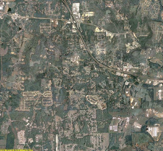 Catoosa County, Georgia aerial photography