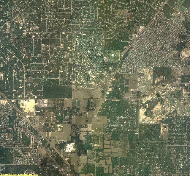 Citrus County, Florida aerial photography