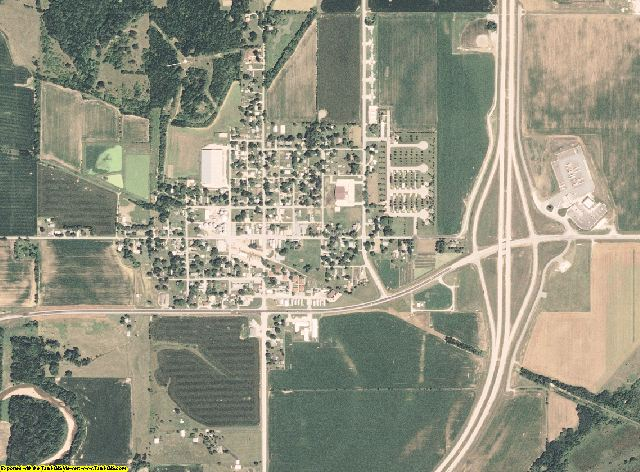 Clark County, Missouri aerial photography