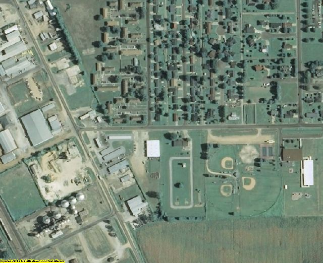Coahoma County, MS aerial photography detail