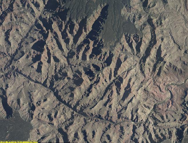 Coconino County, Arizona aerial photography