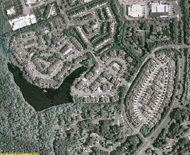 Coweta County, GA aerial photography detail