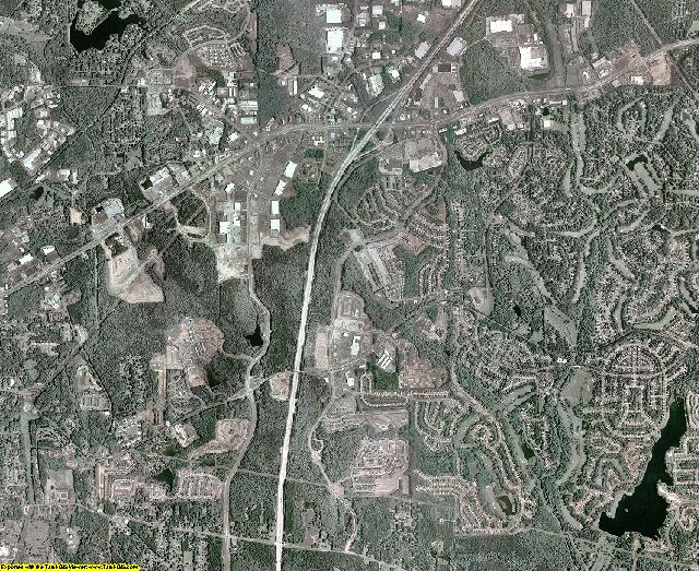Coweta County, Georgia aerial photography