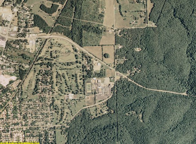 Crawford County, Missouri aerial photography