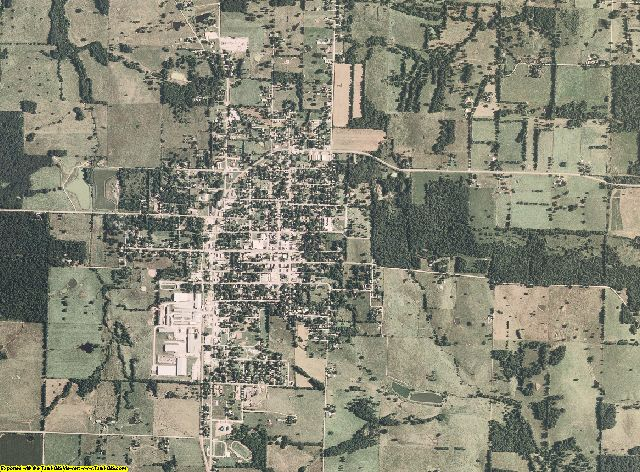 Dade County, Missouri aerial photography