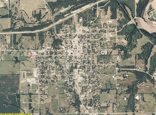 Daviess County, Missouri aerial photography