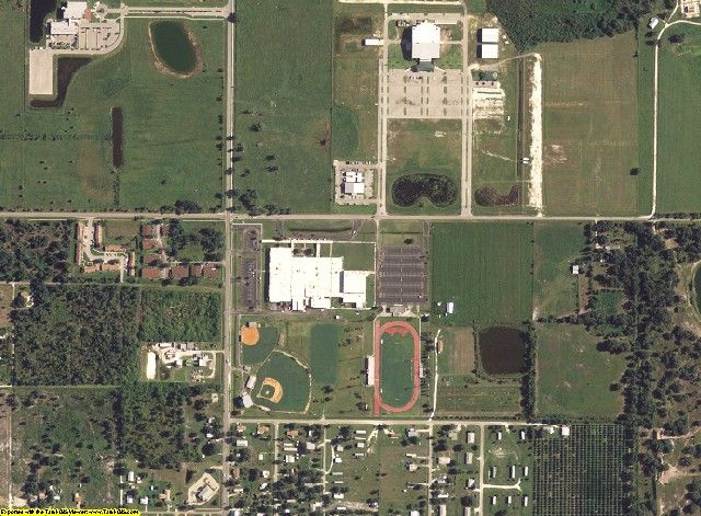 DeSoto County, FL aerial photography detail