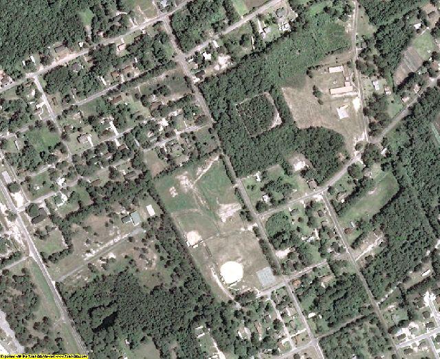 Effingham County, GA aerial photography detail