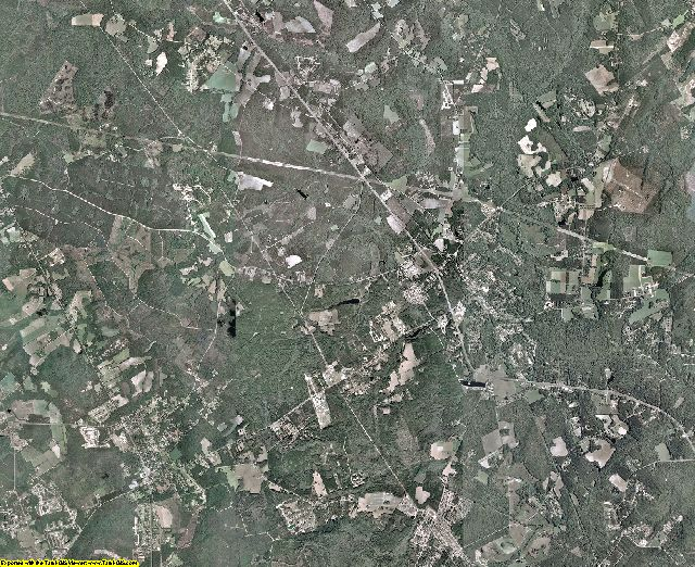 Effingham County, Georgia aerial photography