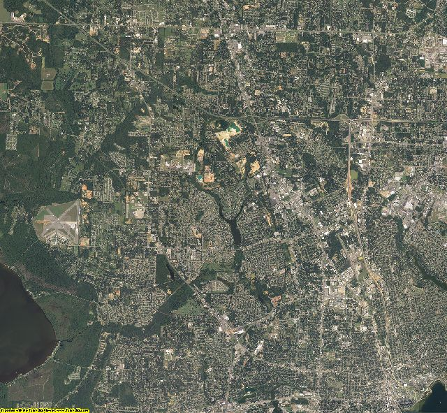 Escambia County, Florida aerial photography
