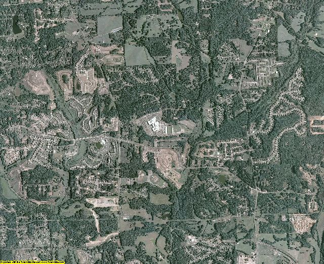 Forsyth County, Georgia aerial photography