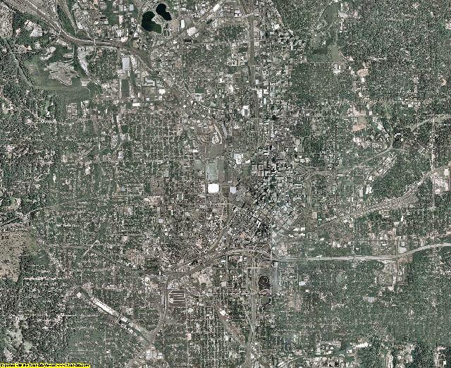 Fulton County, Georgia aerial photography