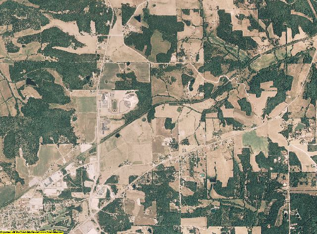 Gasconade County, Missouri aerial photography