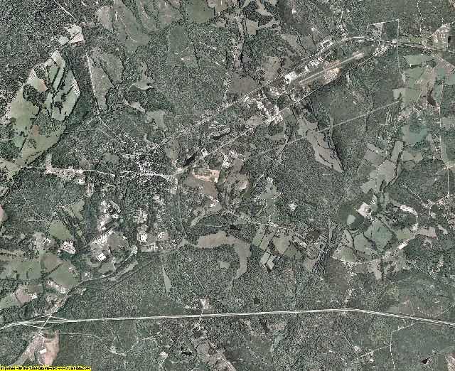 Greene County, Georgia aerial photography