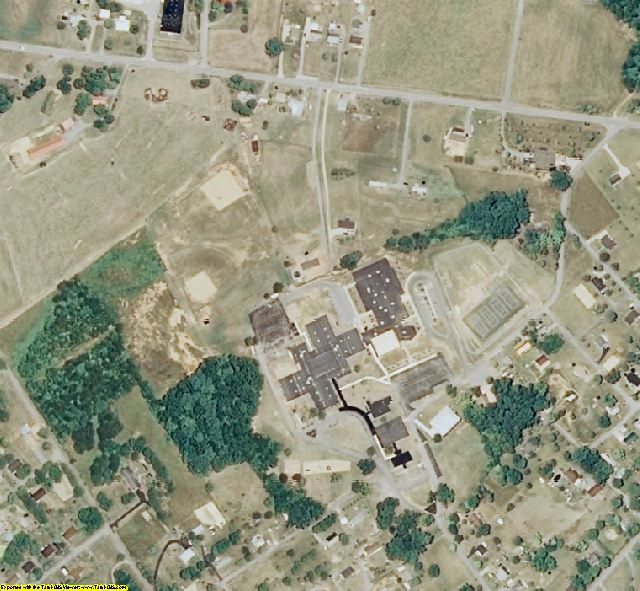 Greene County, TN aerial photography detail