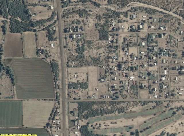 Greenlee County, AZ aerial photography detail