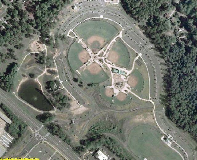 Gwinnett County, GA aerial photography detail