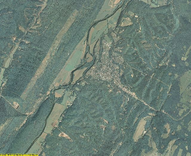 Hampshire County, West Virginia aerial photography