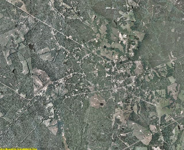 Hancock County, Georgia aerial photography