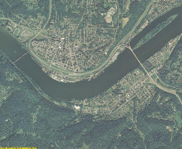 Hancock County, West Virginia aerial photography