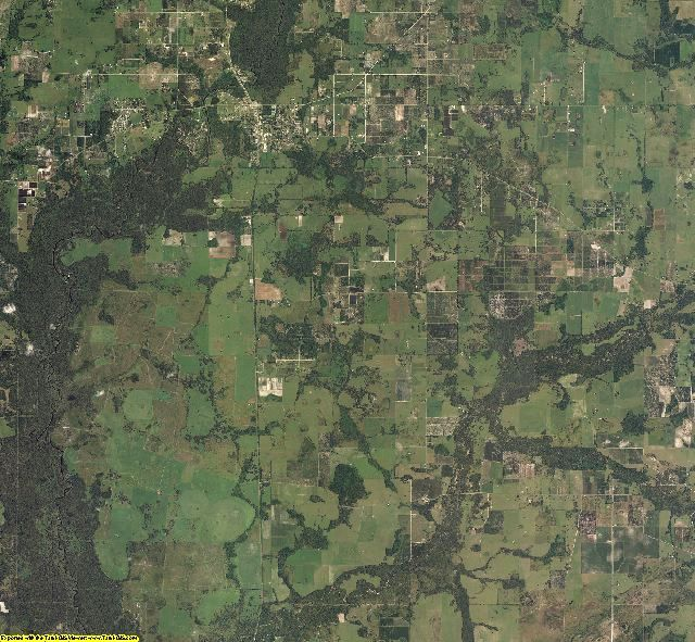 Hardee County, Florida aerial photography