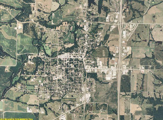 Harrison County, Missouri aerial photography