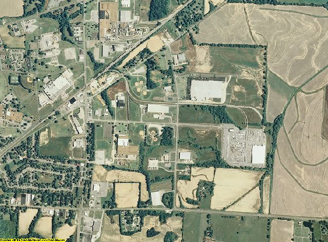 Haywood County, Tennessee aerial photography