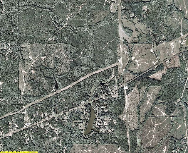 Heard County, Georgia aerial photography