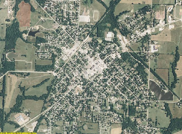 Henry County, Missouri aerial photography