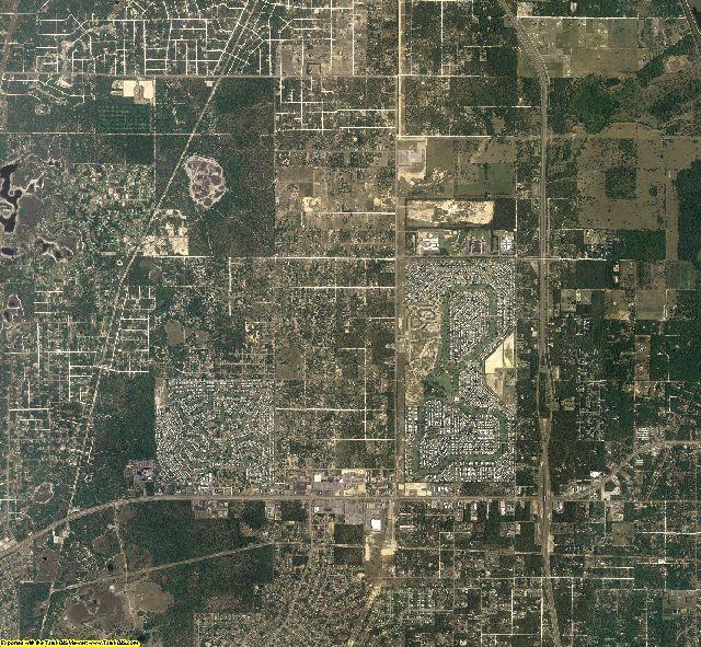 Hernando County, Florida aerial photography