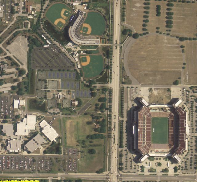 Hillsborough County, FL aerial photography detail