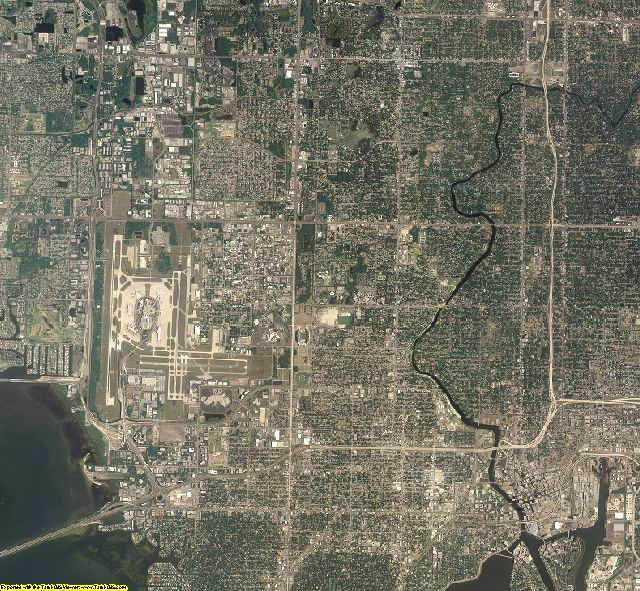 Hillsborough County, Florida aerial photography