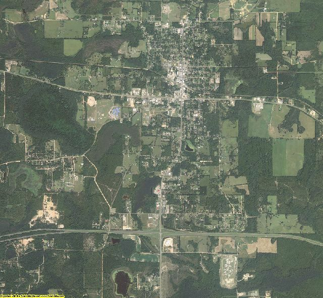 Holmes County, Florida aerial photography