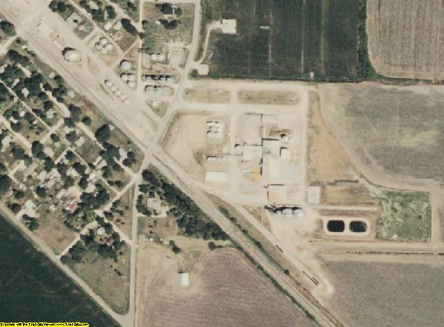Holt County, MO aerial photography detail
