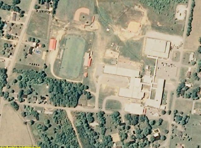 Humphreys County, TN aerial photography detail