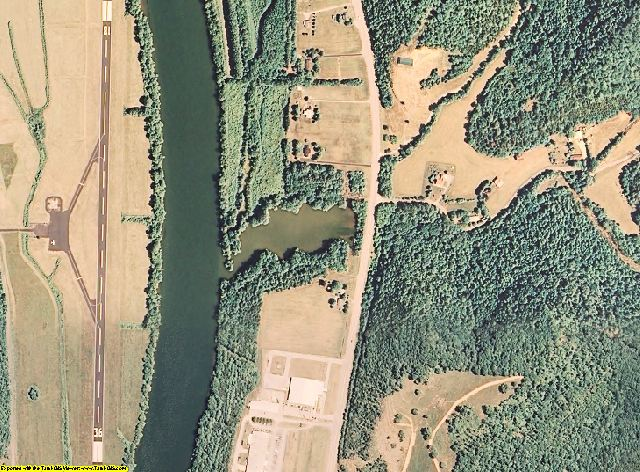 Jackson County, Tennessee aerial photography